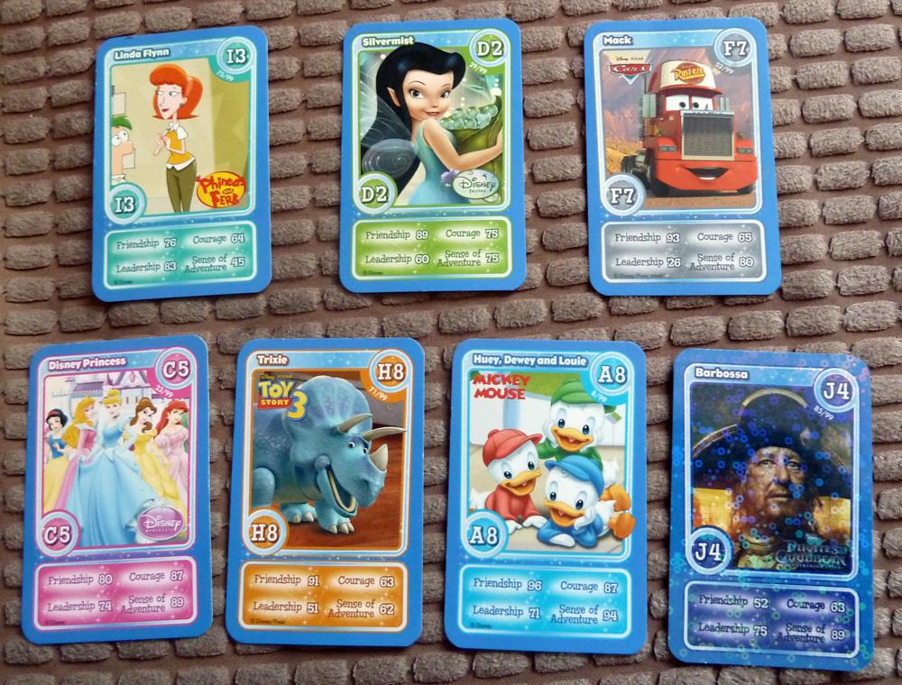 Image Gallery Disney Cards