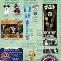 September 2011 Disneyland Paris Pins