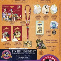 Disneyland Paris Pins for October 2011