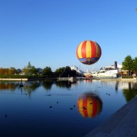 Lake Disney in Disneyland Paris