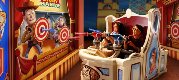 Toy Story Mania at Walt Disney World