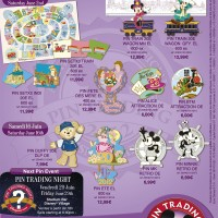 Disneyland Paris Pins for June 2012