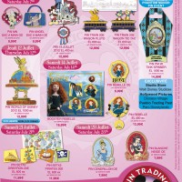 Disneyland Paris Pins for July 2012