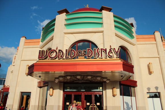 World of Disney Store in Disneyland Paris