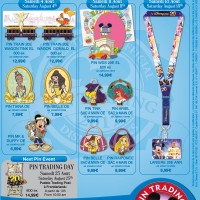 Disneyland Paris Pins for August 2012