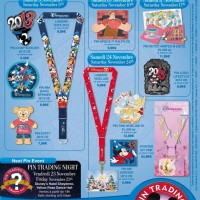 Disneyland Paris Pins for November 2012