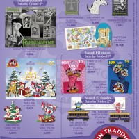 Disneyland Paris Pins for October 2012
