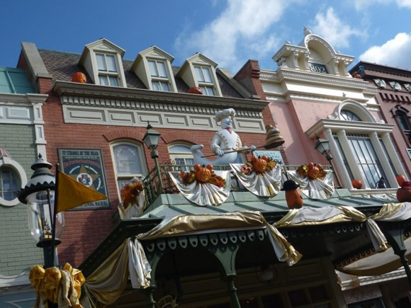 Ghosts in Disneyland Paris for Halloween