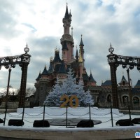 The Castle Stage in Disneyland Paris Ready for the X-Factor