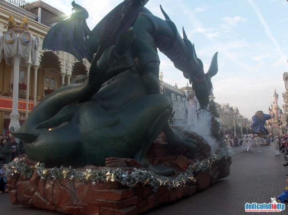 Christmas Eve 2005 in Disneyland Paris