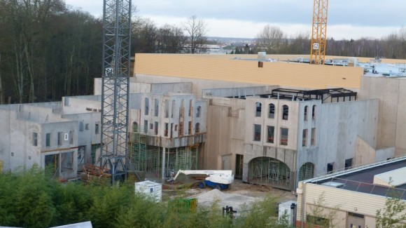 Ratatouille Construction in Walt Disney Studios, Disneyland Paris