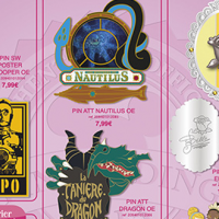 Disneyland Paris Pins for February 2013