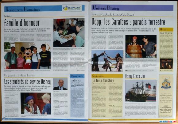 Disneyland Resort Paris Tribune Pages 10 & 11