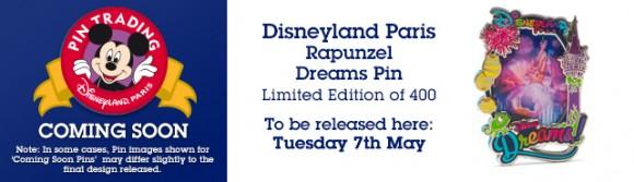 Disney Store Dreams Pins