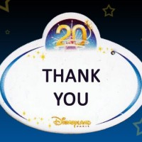 Thank You Disneyland Paris Cast Members