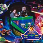 Buzz Lightyear Laser Blast Photo Using Disney PhotoPass in Disneyland Paris