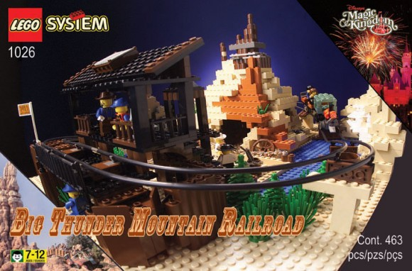 Fake LEGO Thunder Mountain Box
