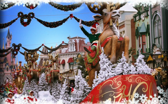 Christmas Cavalcade in Disneyland Paris