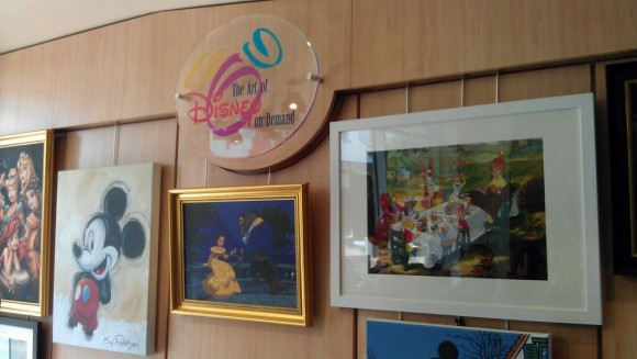 The Art of Disney on Demand in Disneyland Paris