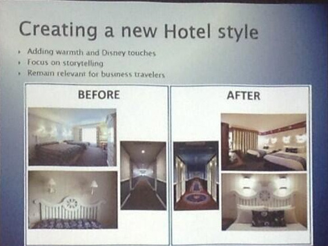 Newport Bay Club in Disneyland Paris: Before & After
