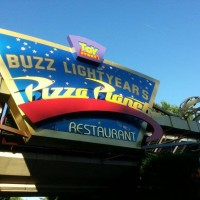 Buzz Lightyear's Pizza Planet Restaurant in Disneyland Paris