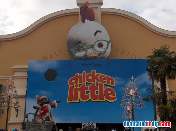 Chicken Little Display in Walt Disney Studios, Disneyland Paris