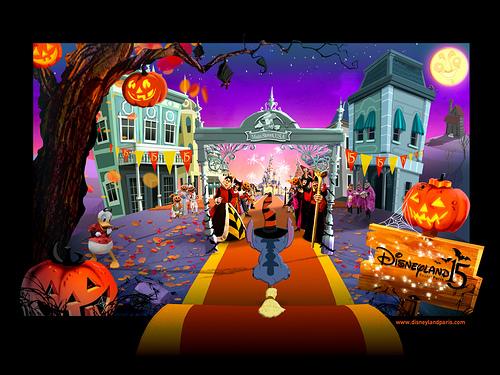 Disneyland Paris Halloween 2007 Main Street, U.S.A.