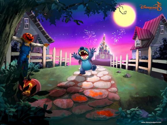 Disneyland Paris Halloween 2007 Stitch