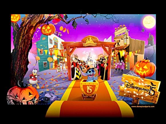 Disneyland Paris Halloween 2007 Wallpaper