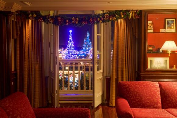 Castle Club Lounge in Disneyland Paris. Photo by Kris Van de Sande