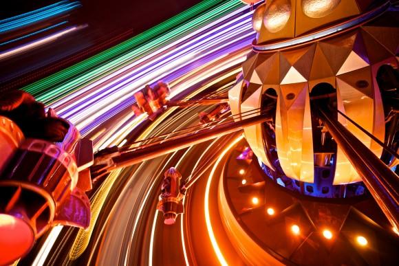 Orbitron in Disneyland Paris. Photo by Kris Van de Sande
