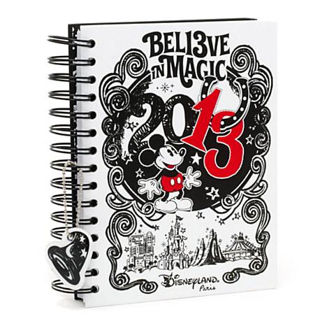 Disneyland Paris 2013 Doodle A5 Notebook