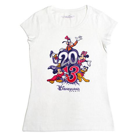 Disneyland Paris 2013 Logo Ladies' T-Shirt