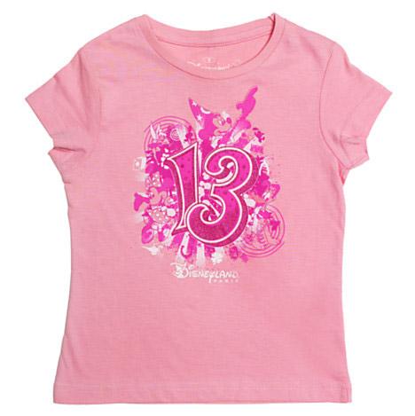 Disneyland Paris 2013 Pink Logo T-Shirt For Kids