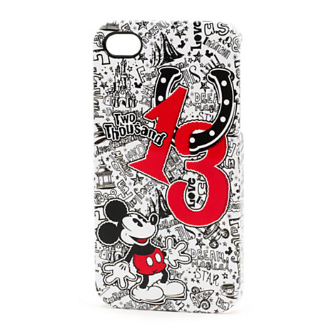 Mickey Mouse 2013 Doodle Mobile Phone Clip Case