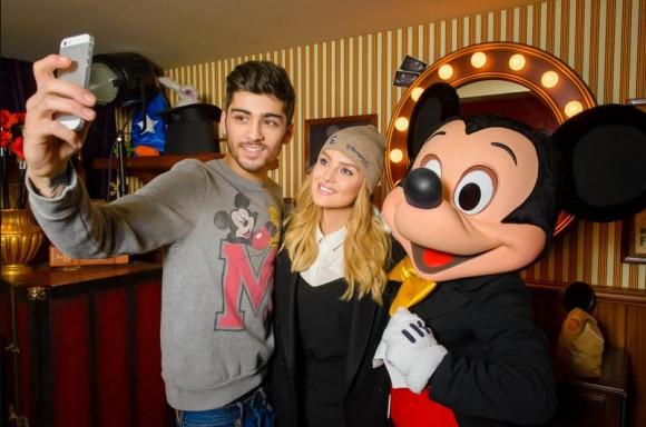 Zayn Malik & Perrie Edwards in Disneyland Paris (Photo courtesy of Disneyland Paris)