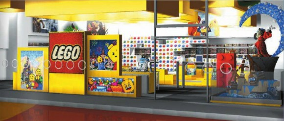 New Disneyland Paris Concept Artwork for LEGO Store