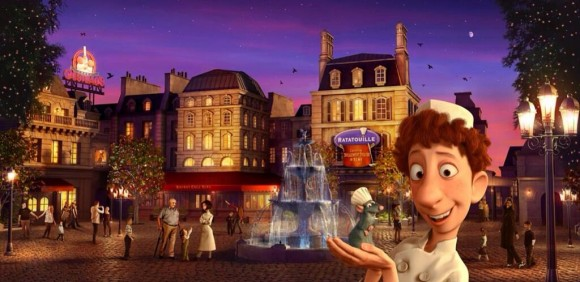 New Disneyland Paris Concept Artwork for Ratatouille
