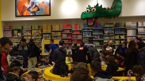 The LEGO Store in Disneyland Paris