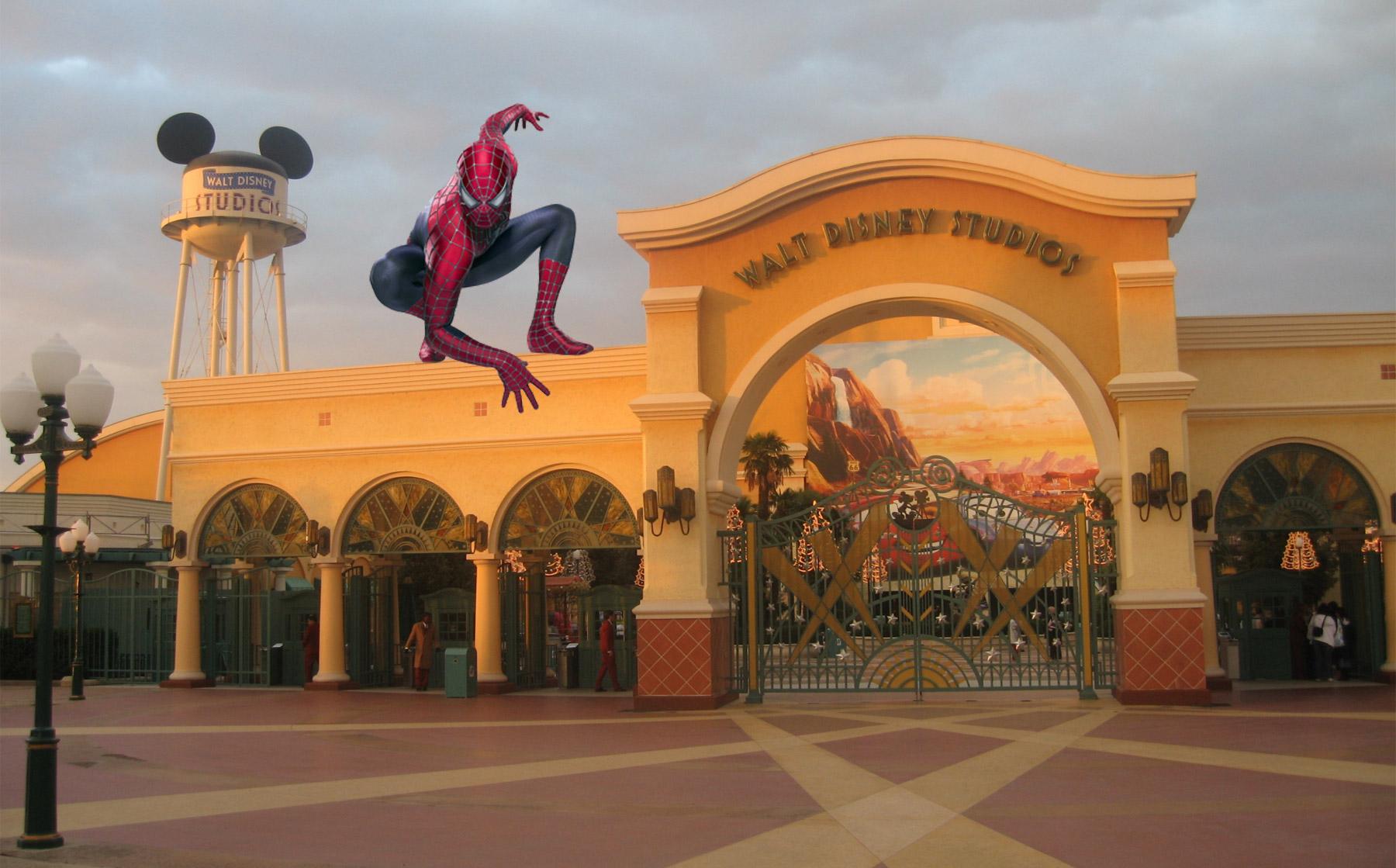 Dedicated to dlp celebrating disneyland paris rumour spider man meet greet in walt disney - Walt disney office locations ...