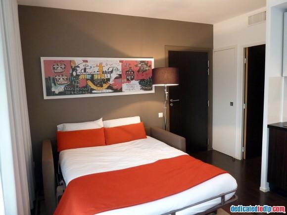 Sofa Bed of Studio at Hipark Serris-Val d'Europe