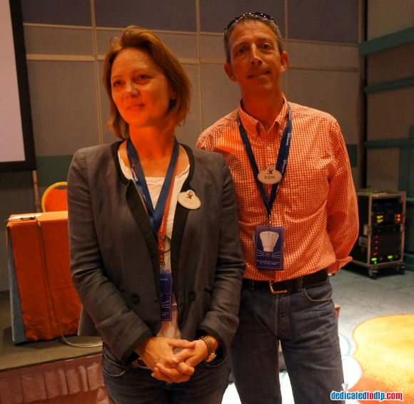 Ratatouille: The Adventure Fan Event. Beth Clapperton and Bjorn Heerwagen