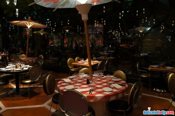 Ratatouille: The Adventure Fan Event. Bistrot Chez Rémy