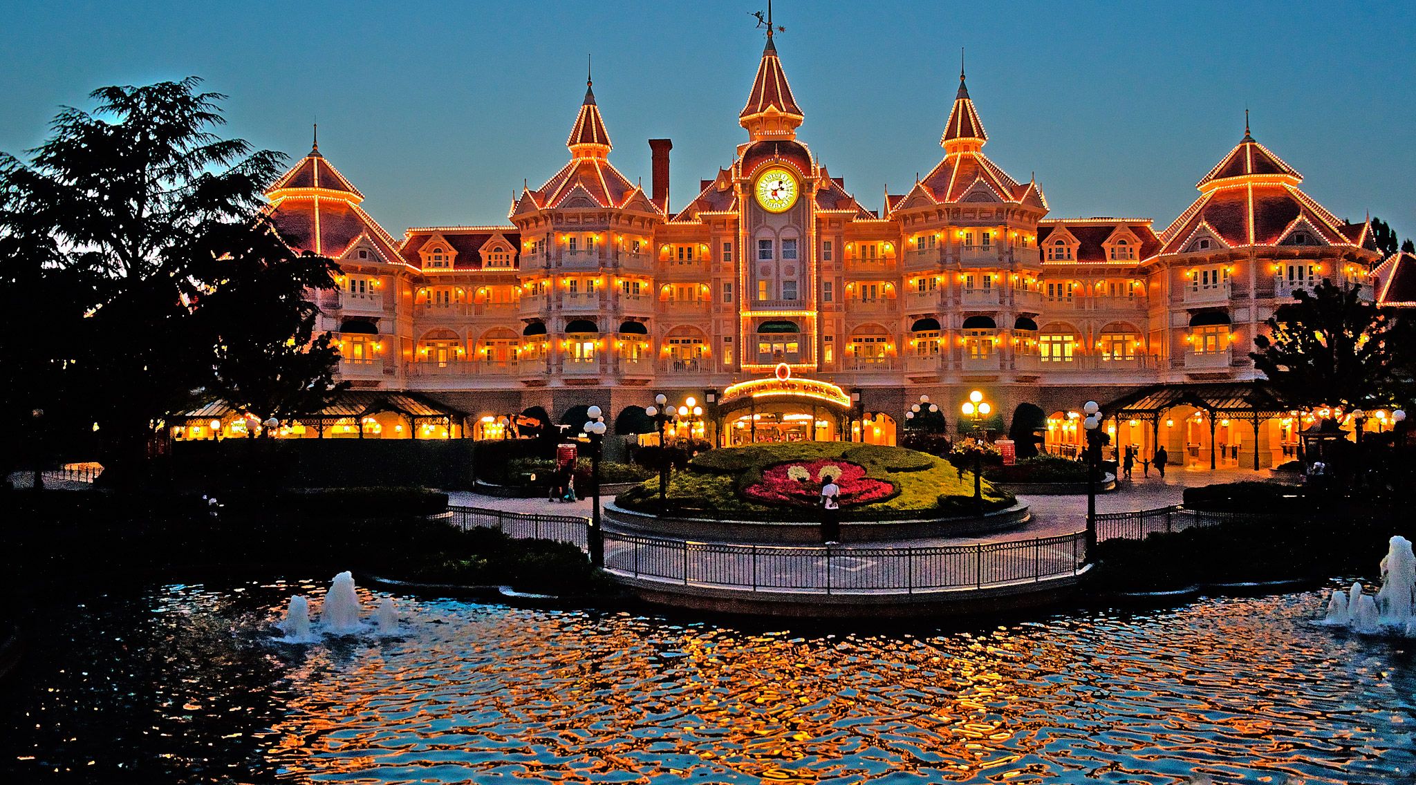 Hotel du parc disneyland paris for Hotels eurodisney