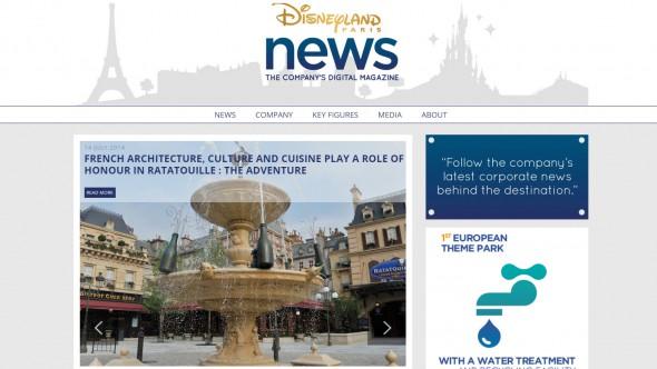 Disneyland Paris News - The Company's Digital Magazine