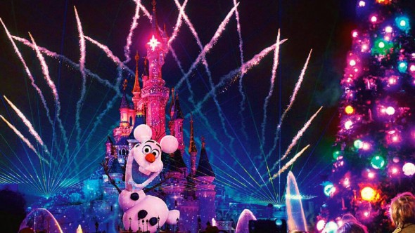 Disneyland Paris Christmas 2014