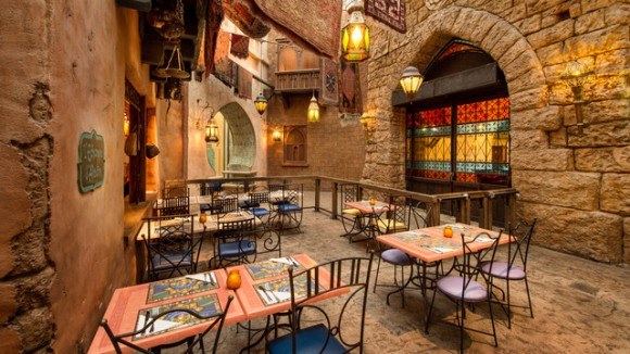 Agrabah Cafe in Adventureland