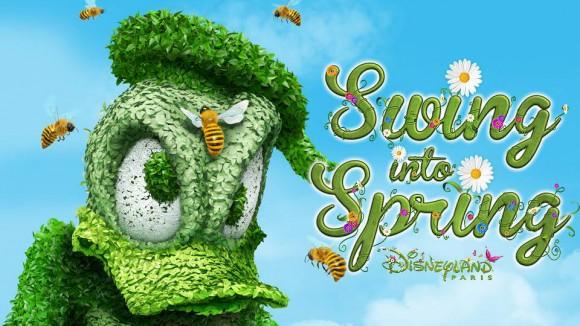Swing Into Spring in Disneyland Paris
