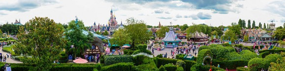 Fantasyland in Disneyland Paris