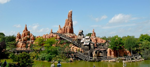 Frontierland in Disneyland Paris